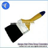 paint brush with wooden handle, promotional,Hot sell, varnished, painting brush,flat brush,