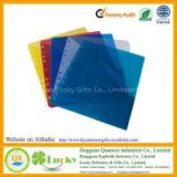PP 11 Holes Index Divider with 2 Pockets, Organizing Plastic Index Page, Stationery PP Dividers