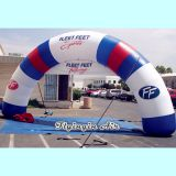 Outdoor Full Printing Advertising Inflatable Arch for Advertisement