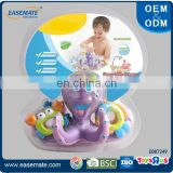 Baby water bath toy organize of fun little octopus