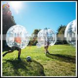 1.0mm PVC /TPU Manufacturer Inflatable Bumper Soccer Ball Human Loopy Bubble Suit On Sale