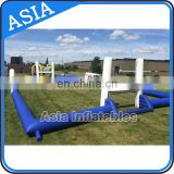 Portable blow up soccer field, new Inflatable soap soccer game for club events