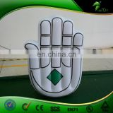 Parade Inflatable Model PVC Palm Balloon Adevrtising Hands Shape