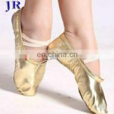 Wholesale Soft gold belly dance shoes X-8002#