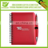 Promotional Custom Logo Spiral Pen Pal Notebook