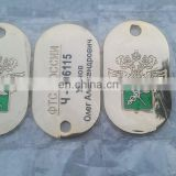 custom military dog tags manufacturer, stamped dog tag laser logo with chain, ,top hot selling pet tag high quality