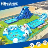 2018 New Giant Aquapark Floating Inflatable Water Park, Adult inflatable water sports For Sale