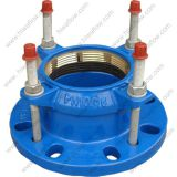 Tensile Restrained Flange Adaptor for HDPE Pipe