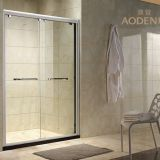 Sliding Door Bathroom Safety Glass Shower Screen