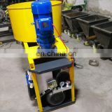 High Pressure Air Compressed Sprayer Machine With Concrete Mixer For Putty Powder Mortar