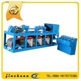High intensity three disc belt type magnetic separator