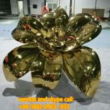 Copper Plate / Iron Plate Stainless Steel Globe Sculpture Stainless Steel Sculpture Metal