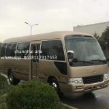 2015 2016 used toyota coaster bus with diesel engine and 30 seats for sale in shanghai ,china