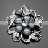wholsale fashion clothes sweater accessories crystal rhinestone brooch pin
