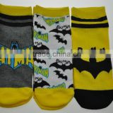 Boys comic ankle socks. 3 - Pack. Superhero Design