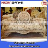 American living room antique furniture pictures of solid wood fabric sofa                                                                         Quality Choice