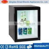 semiconductor refrigerator transparent glass door refrigerator hotel mini bar refrigerator