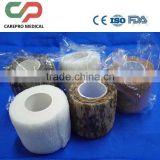 non-adhesion, but self-adhesive non-woven latex and latex free cohesive bandages with CE ISO FDA