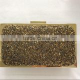 2015 Popular stylish brilliant rhinestone crystal bag clutch party bag