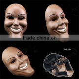 2015 Newest The Purge movie theme mask Halloween cosplay Mask smile face the purge resin mask Replica1:1 factory price