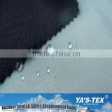polyester water repellent recycled pet bottle fabric, laminated softshell recycled pet fabric