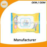 Baby wipes for hand and face unscended 30pcs