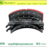 Excellent quality of 4710 brake shoe lined or unlined