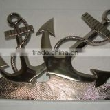 Cast Aluminum Wall Decoration Anchor / Metal Wall Accent/ Wall decor Item/ Home & Office Decorations & Gift