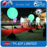 80cm tripod halogen stand led balloon,inflatable rubber balloon