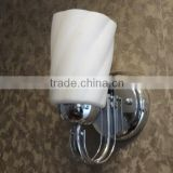 White rotate design wall lamp for home