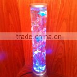 50CM Colour Changing LED Novelty Bubble Fish Water Tube Mood Light table Lamp