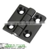 For Doors Cabinets Furnitures or Machines Black Zinc Alloy Hinges