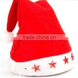 2015 hot selling Xma hat Santa Clause hat Christmas hat plush santa hat