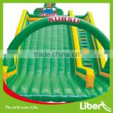 Large inflatable jumper castle water inflatable bouner slide and obstacle course combination for kids play center LE.CQ.069