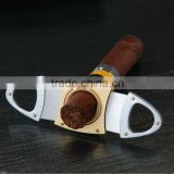 Stainless Steel Dual Blades Cigar Cutter