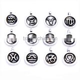 DIY constellations charms OEM alloy charms for dresses fashion jewelry