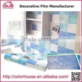 HOT SELL decorative self adhesive vinyl film 3d home decoration film, 1.22*50m                                                                                                         Supplier's Choice