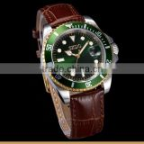 Top Brand Gold Designer Leather Roles Watches Men