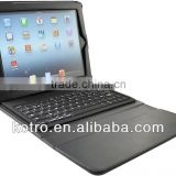 2013 hot sales new style leather case with bluetooth keyboard leather case for pad mini made in china