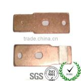 Electrical spare parts with CTI testing report / welding stamping parts with silver contact tips
