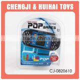 Hot selling handheld electric pop game player for kids toys