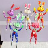 Hot Sale in Russia 4 Inch Wholesale Plastic Rabbit Action Figure Toys, Hot Toys Figure, Peter Rabbit Toys