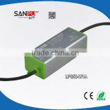 Shenzhen SANPU CE ROHS IP67 PFC0.95 outdoor led transformer switching dc power supply isolated led tube driver