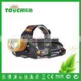 IP 54 waterproof led headlamps high power fishing light night fish headlight xml t6 led head torch