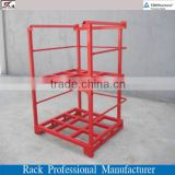 Heavy duty portable removable posts warehouse storage stacking racks