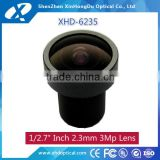 "2.3mm F2.2 1/2.7"" for CCD camera/cmos camera/IP camera manual focus and Iris machine vision lens"