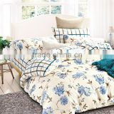 100% cotton pigment print new design fresh flower lighter color european style bedding sets