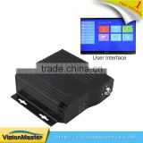 4ch H 264 SD Card 3G 4G GPS WIFI Optional Mobile DVR For Bus Tracking                                                                         Quality Choice