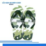High quality army green design disposable flip flop slipper