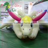 Large 4M Long Laying Toy Funny Soft Bounce PVC Inflatable Flying Cartoon Character